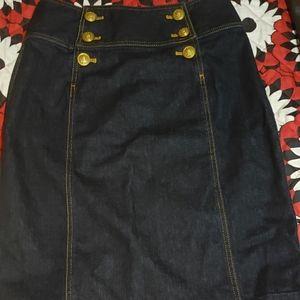 Ralph Lauren Ladies denim skirt